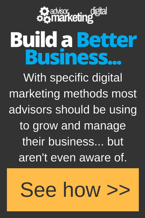 Advisor Marketing Digital Ad